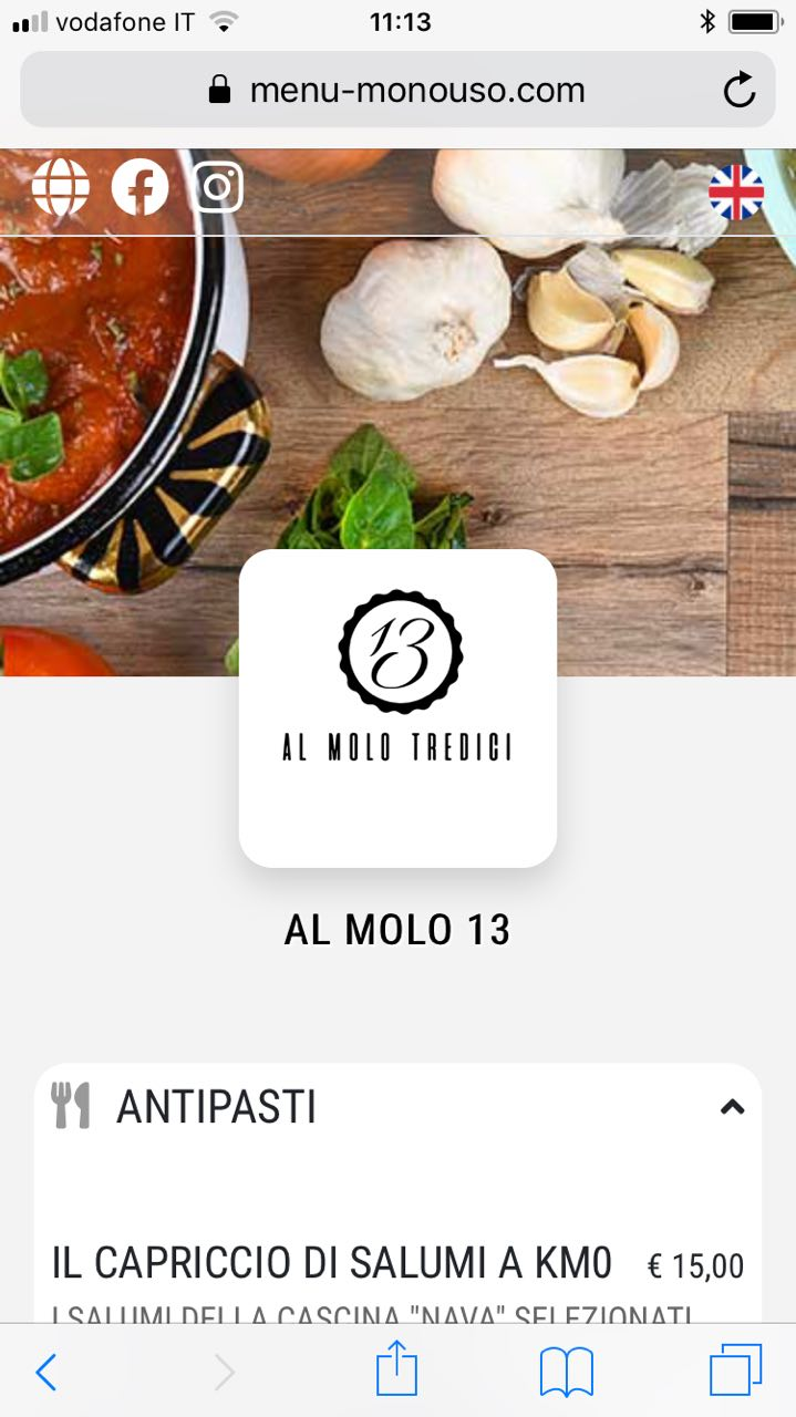menu digitale online gratis